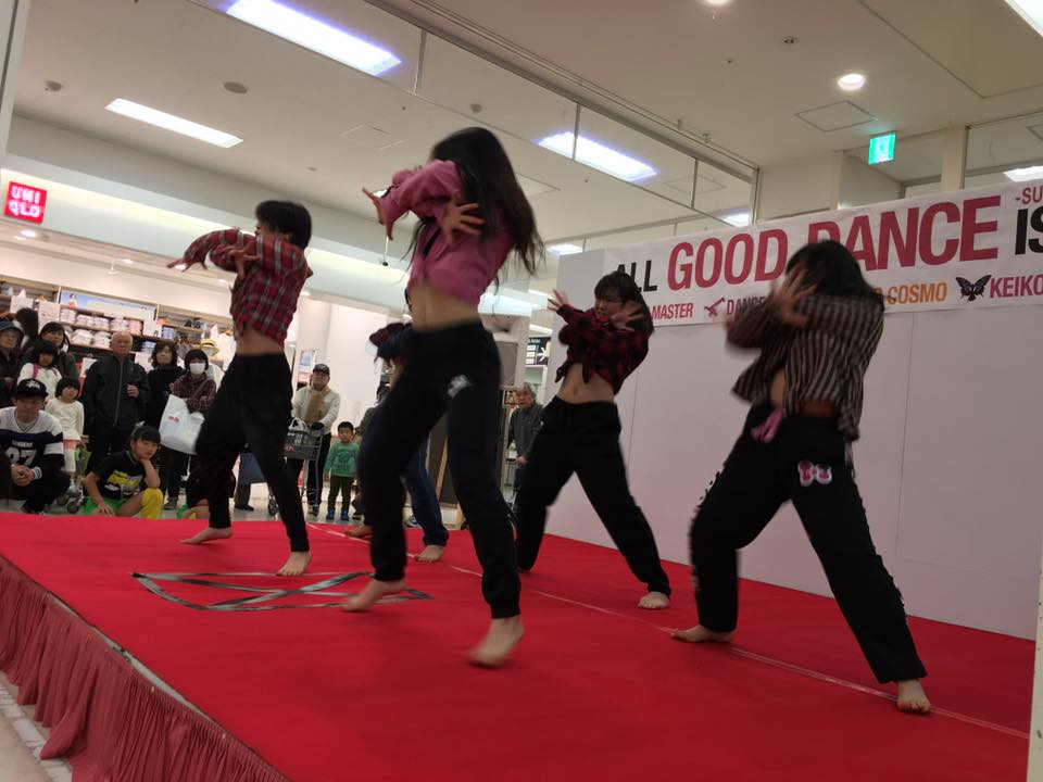 イオン延岡店様 【All good dance is one!】