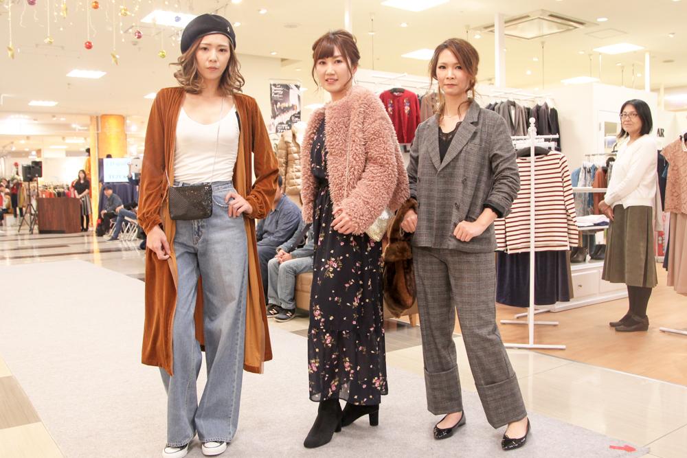 イオン延岡店様 ファッションショー