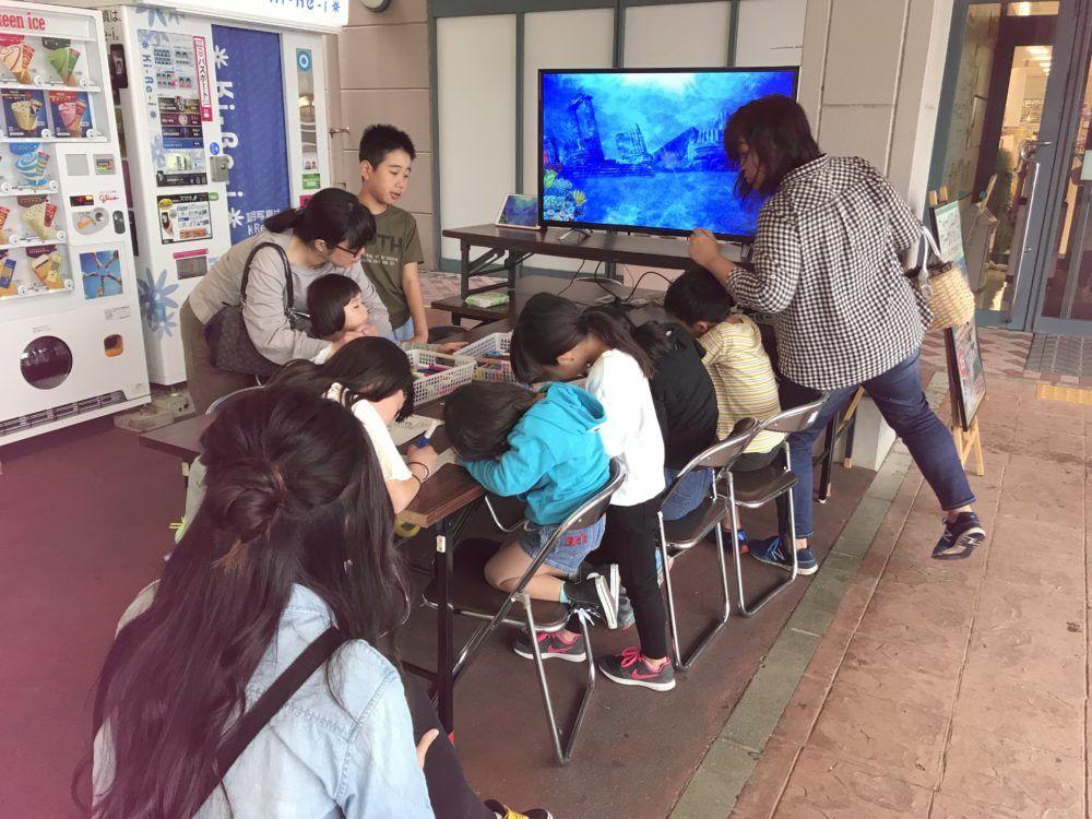 イオン日向店様 4月度第2ウィークエンドワークショップ