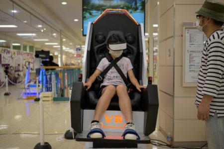 イオン日向店様 VR+ARパーク